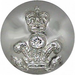 Royal Scots (The Royal Regiment) - Wide Cross 18.5mm - Gold Colour  Anodised Staybrite military uniform button
