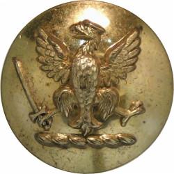 Guthrie Family Livery - Spread Eagle Holding Sword 16.5mm  Gilt Civilian uniform button