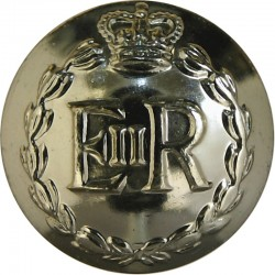 Royal Military Police 19.5mm - Gold Colour with Queen Elizabeth's Crown. Anodised Staybrite military uniform button