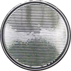 Ambulance Service - Generic Type - Lined With Rim 17mm Silver Colour  Plastic Civilian uniform button
