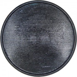 Ambulance Service - Generic Type - Lined With Rim 22.5mm - Black  Horn Civilian uniform button