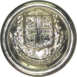 Montreal City Crest - Canada 15.5mm - Gold Colour  Anodised Civilian uniform button