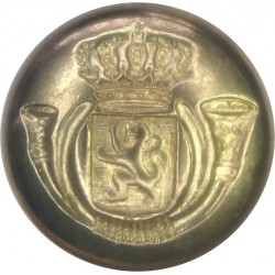 Belgian Post Office (De Post / La Poste) 16.5mm - Pre-2010  Brass Civilian uniform button