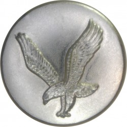 Army Air Corps (without Crown - Not In Ripley) 19.5mm - Gold Colour  Anodised Staybrite military uniform button