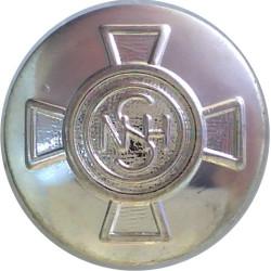 National Health Service 19mm  Silver-plated Civilian uniform button