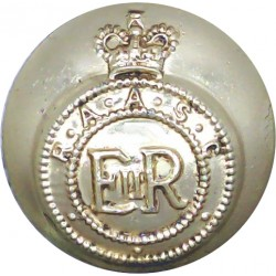 Queen's Lancashire Regiment 19.5mm - Gold Colour  Anodised Staybrite military uniform button