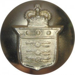 Queen's University Officers Training Corps (Belfast) 14mm - Gold Colour Anodised Staybrite military uniform button