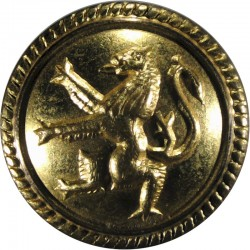 British Petroleum Tankers - Shipping Button - Roped 25mm - Post-1955  Gilt Merchant Navy or Shipping uniform button