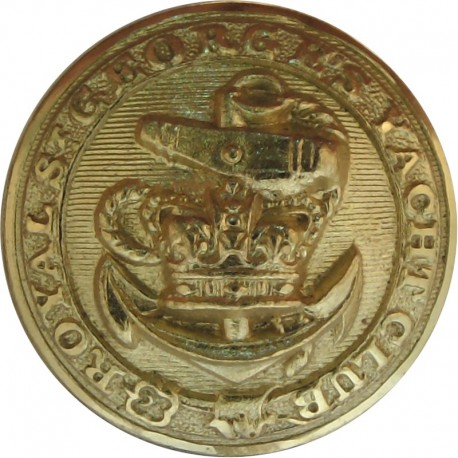Royal St George's Yacht Club (Dublin) 23mm with Queen Victoria's Crown. Gilt Yacht or Boat Club jacket button