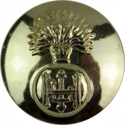 Parachute Regiment 26mm - Gold Colour with King's Crown. Anodised Staybrite military uniform button