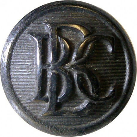British Broadcasting Corporation Yacht Club 15.5mm - Black  Horn Yacht or Boat Club jacket button
