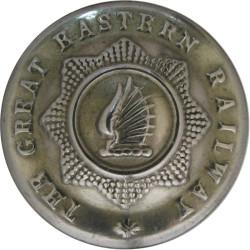 Great Eastern Railway 21mm - Pre-1922  White Metal Transport uniform button