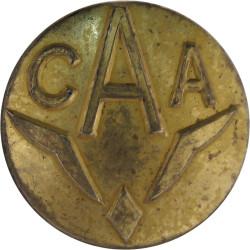 Central African Airways (Rhodesia & Nyasaland) 17.5mm - 1946-1967  Brass Transport uniform button