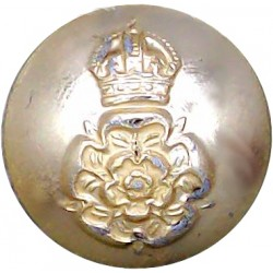 Life Guards 19mm - Gold Colour with Queen Elizabeth's Crown. Anodised Staybrite military uniform button