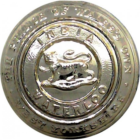 Life Guards 14mm - Gold Colour with Queen Elizabeth's Crown. Anodised Staybrite military uniform button