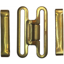 Brass Buckle And 2 Keepers For Webbing Belt British 1937 Pattern  Brass Stable Belt, belt-plate or buckle