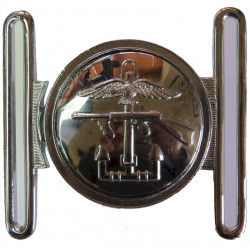 Joint Forces Headquarters Combined Operations Locket Type Buckle  Chrome-plated Stable Belt, belt-plate or buckle