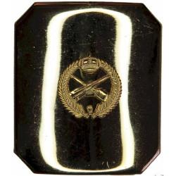 Royal Saudi Arabian Air Defense Forces Badge On Plate  Gilt Stable Belt, belt-plate or buckle
