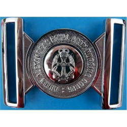 Queen Alexandra's Royal Army Nursing Corps Buckle Locket Type Buckle with Queen Elizabeth's Crown. Chrome-plated Stable Belt, be