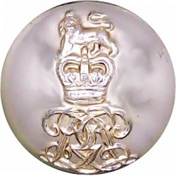 Welsh Guards 15.5mm - Gold Colour with Queen Elizabeth's Crown. Anodised Staybrite military uniform button