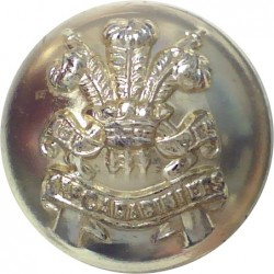 3rd Carabiniers (Prince Of Wales's Dragoon Guards) 19mm - Pre-1971  Anodised Staybrite military uniform button