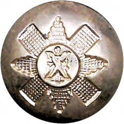Duke Of Wellington's Regiment (West Riding) 14.5mm - Gold Colour  Anodised Staybrite military uniform button