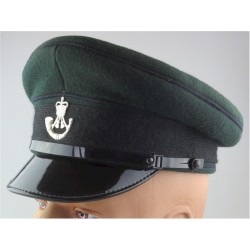 No.1 Dress Cap - The Rifles - Green - With Front & Back Cap Badges  Silver-plated Hat, cap or helmet