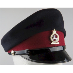 No.1 Dress Cap - Royal Army Veterinary Corps Female Pattern with Queen Elizabeth's Crown. Anodised Hat, cap or helmet