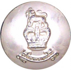 Royal Navy - Ratings (Plain Rim) 23.5mm - Gold Colour with Queen Elizabeth's Crown. Anodised Staybrite military uniform button