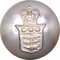 Royal Army Ordnance Corps 19mm - Gold Colour with Queen Elizabeth's Crown. Anodised Staybrite military uniform button
