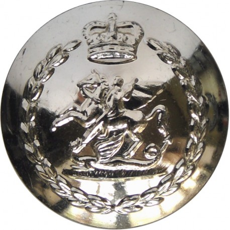 Royal Pioneer Corps (Last Pattern 1985-1993) 14mm - Gold Colour with Queen Elizabeth's Crown. Anodised Staybrite military unifor