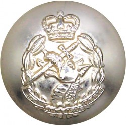 80 (Cheshire Yeomanry) Signal Sqn 33 Signal Regt (V) 22.5mm - Gold Colour Anodised Staybrite military uniform button