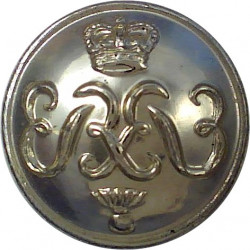 Grenadier Guards 19.5mm - Gold Colour with Queen Elizabeth's Crown. Anodised Staybrite military uniform button