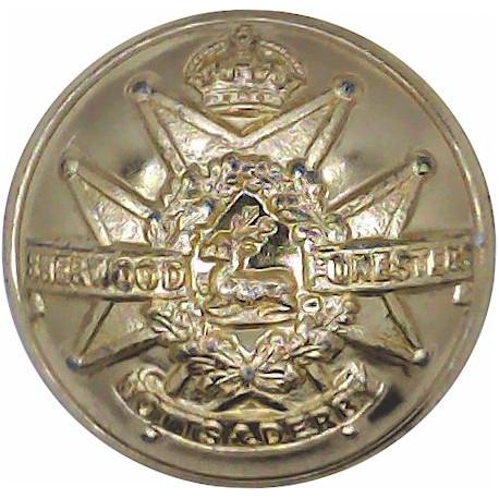 Royal Hampshire Regiment 14mm - Gold Colour  Anodised Staybrite military uniform button