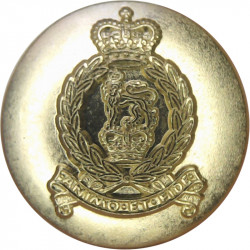 Adjutant General's Corps - Current Pattern 14mm - Gold Colour with Queen Elizabeth's Crown. Anodised Staybrite military uniform
