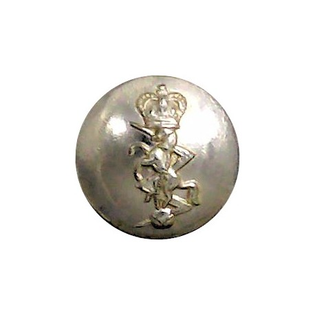 Light Infantry - Post-1959 19mm Silver Colour  Anodised Staybrite military uniform button