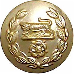 47 (Middlesex Yeomanry) Signal Squadron (V) 14mm - Gold Colour Queen's Crown. Anodised Staybrite military uniform button