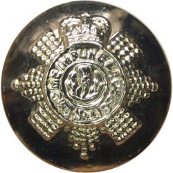 Sea Cadet Corps 23.5mm - Gold Colour Anodised Staybrite military uniform button
