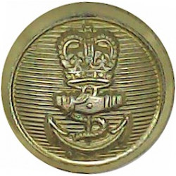 10th Royal Hussars (Prince Of Wales's Own) 13.5mm - Gold Colour  Anodised Staybrite military uniform button