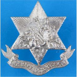 Barbados Regiment   White Metal Other Ranks' metal cap badge