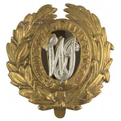 West India Regiment (became Jamaica Regiment In 1962   Bi-metallic Other Ranks' metal cap badge