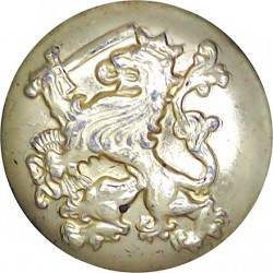 Netherlands General Service 24.5mm - Gold Colour  Anodised Staybrite military uniform button