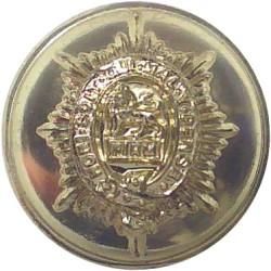 Worcestershire Regiment - Pre-1970 18.5mm - Gold Colour  Anodised Staybrite military uniform button