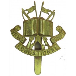 Army Educational Corps (Open Book) 1927-1951  Brass Other Ranks' metal cap badge