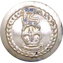 Lancashire Fusiliers - XX Design 14mm - Gold Colour  Anodised Staybrite military uniform button