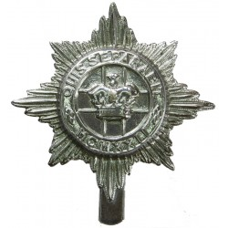 4th/7th Royal Dragoon Guards - Full Size   Chrome-plated Other Ranks' metal cap badge