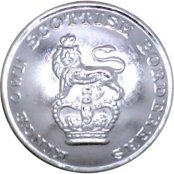 Royal Leicestershire Regiment - 1952-1960 19.5mm - Screw-Fit  Anodised Staybrite military uniform button