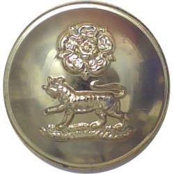 Royal Artillery Association Uniformed Staff:No Crown 18mm Ball - Scuffed  Anodised Staybrite military uniform button