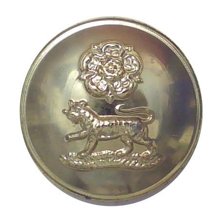 Royal Artillery Association Uniformed Staff:No Crown 18mm Ball Button  Anodised Staybrite military uniform button