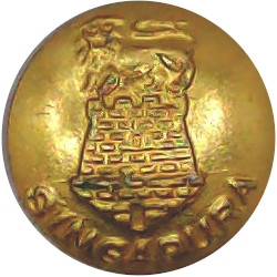 Intelligence Corps 26mm - Gold Colour with King's Crown. Anodised Staybrite military uniform button